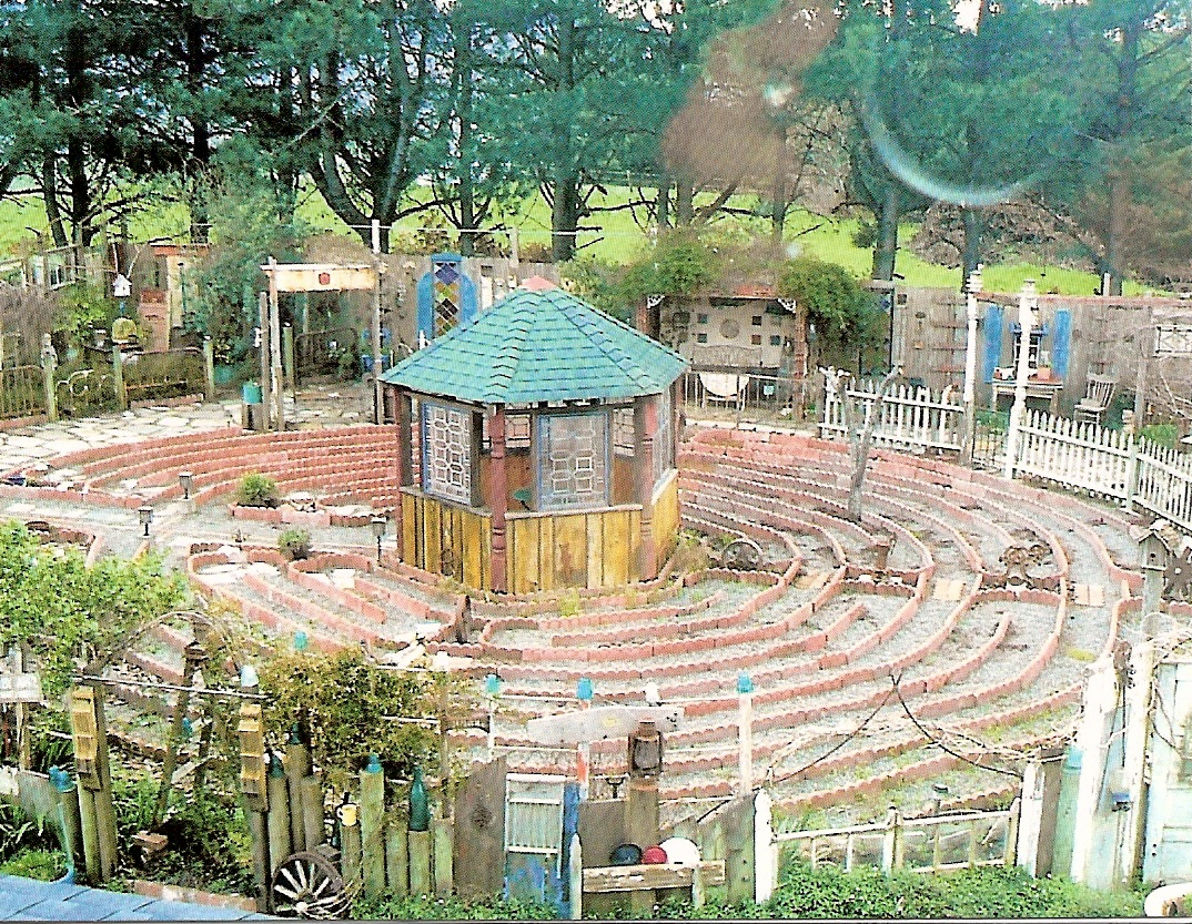 Joy S Rustic Garden Labyrinth Walk A Great Wordpress Com Site